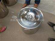 定做加工厨具设备不锈钢直径40厘米带盖汤桶