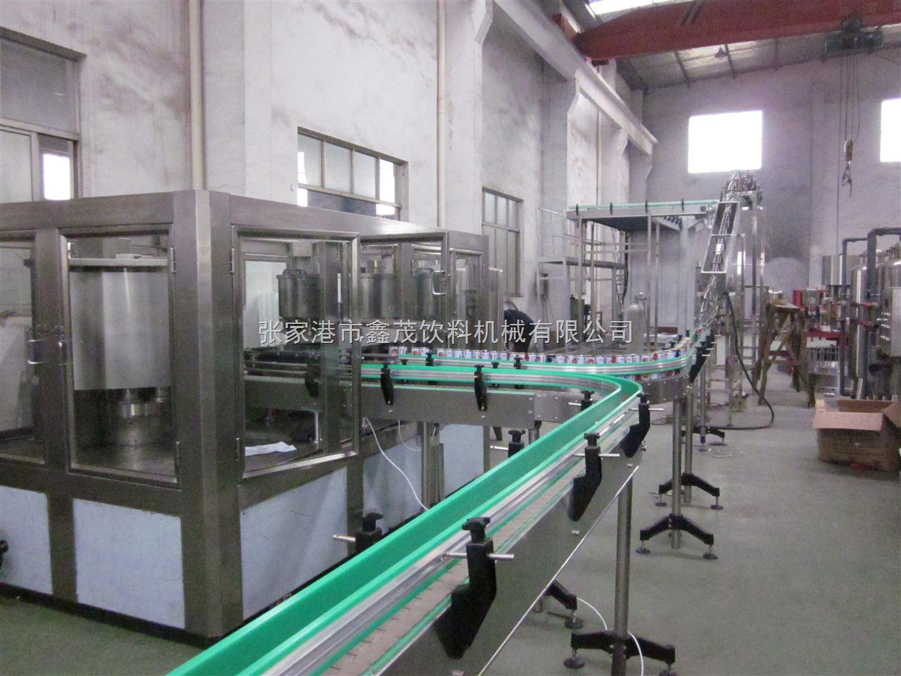 六个核桃易拉罐饮料生产线