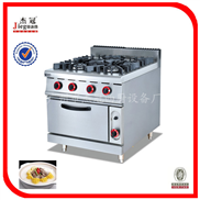 (GH-987A)立式燃气四头煲仔炉连柜座