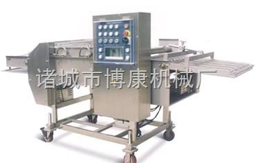 专业制造休闲食品上浆机、洋葱圈浓浆裹浆机