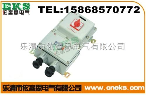 负荷开关箱SHKIR-160/3 16A 3极/防爆电器