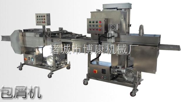 厂家直供博康牌香煎鱼排专用裹粉生产线