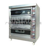 优思龙三层六盘经济款大玻璃电层炉 烤炉烤箱焗炉 面包烘焙机CB-D306