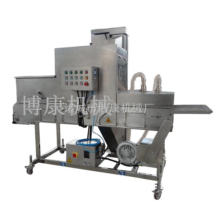 专业生产供应博康牌油炸食品上糠机|鳕鱼片上糠机