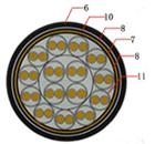 软芯屏蔽电缆RVVP 12*0.75