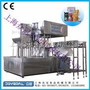 ZLD-4C自立袋灌装旋盖机/可吸果冻灌装封口机