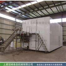 果蔬流態化單體速凍機速凍冷藏設備