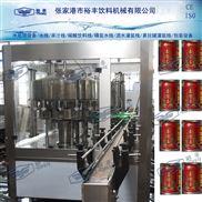 8000-10000罐全自动二合一易拉罐果汁灌装设备