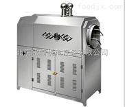 不銹鋼滾筒燃氣炒貨機|小型全電炒面粉機