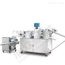 旭众商用三道擀面全自动酥饼机生产线厂家