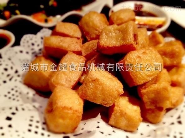 油豆腐双锅并联油炸机