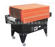喷气式桶装方便面POF膜塑包机¥喷气式礼盒POF膜收缩机