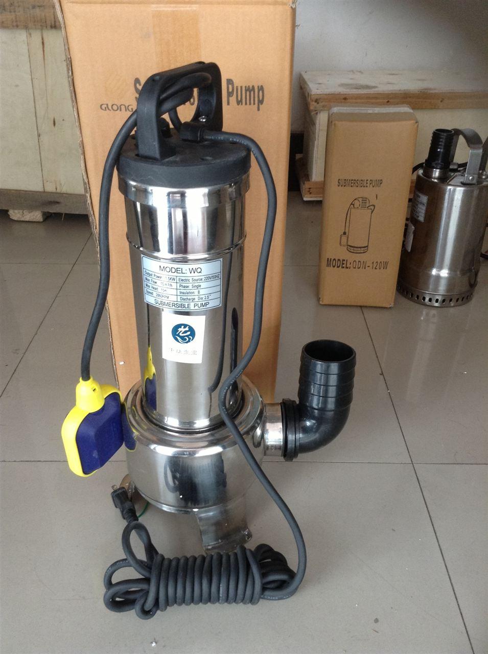 wqd不锈钢单相潜水泵基本说明 wqd不锈钢单相潜水泵电压220v ,小型手