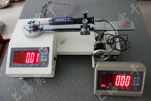 触屏表盘式扭力矩扳手校准器图片